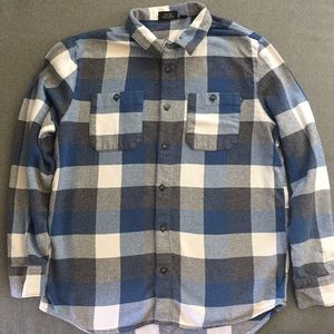 Vans Off The Wall Long Sleeve Button Down Shirt